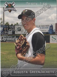 2012 Augusta GreenJackets Derek Law
