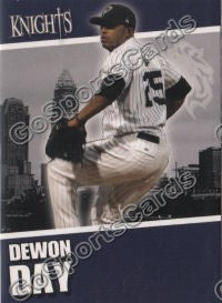 2008 Charlotte Knights Dewon Day