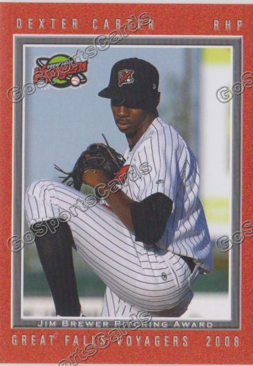 2008 Great Falls Voyagers Dexter Carter