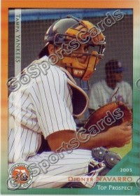 2003 Florida State League Top Prospects Dioner Navarro