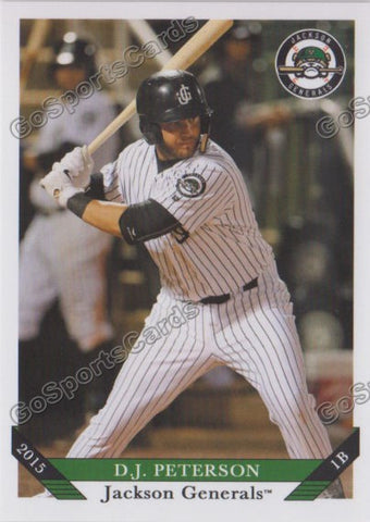 2015 Jackson Generals Team Set