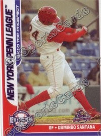 2010 New York Penn League Top Prospects Domingo Santana