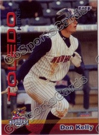 2009 Toledo Mud Hens Don Kelly