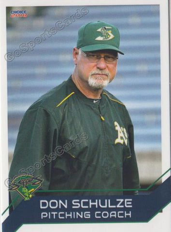 2018 Beloit Snappers Don Schultze