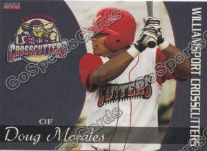 2008 Williamsport Crosscutters Doug Morales