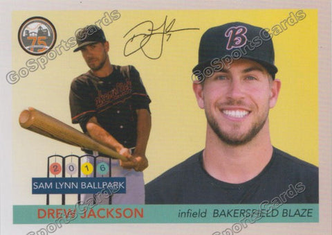 2016 Bakersfield Blaze Team Set