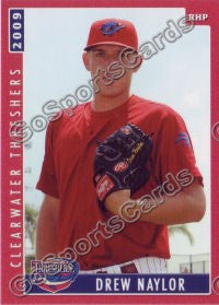 2009 Clearwater Threshers Drew Naylor