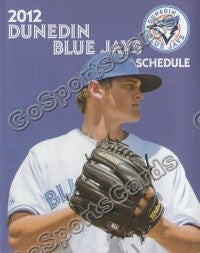2012 Dunedin Blue Jays Pocket Schedule (Noah Syndergaard)