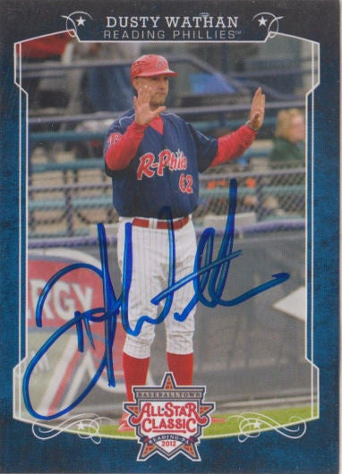 Dusty Wathan 2012 Eastern League All Star (Autograph)