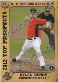 2012 Carolina League Top Prospects Dylan Bundy