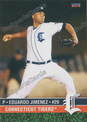 2016 Connecticut Tigers Eduardo Jimenez