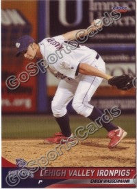 2010 Lehigh Valley IronPigs Ehren Wassermann