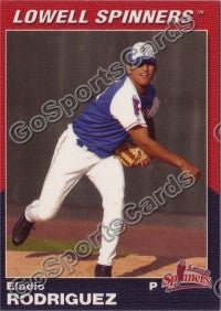 2004 Lowell Spinners Eladio Rodriguez