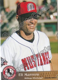 2011 Billings Mustangs Eli Marrero