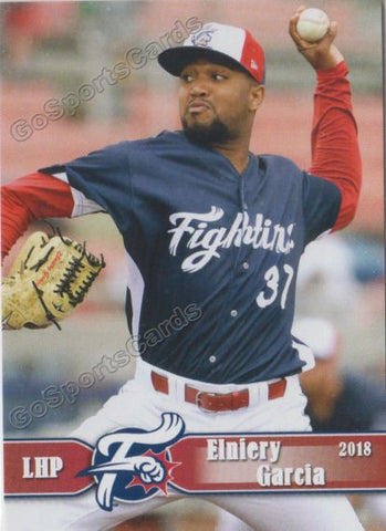 2018 Reading Fightin Phils Elniery Garcia