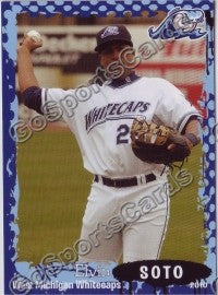 2010 West Michigan WhiteCaps Elvin Soto
