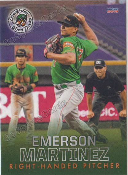 2018 Down East Wood Ducks Emerson Martinez