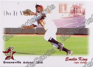 2010 Greeneville Astros Emilio King