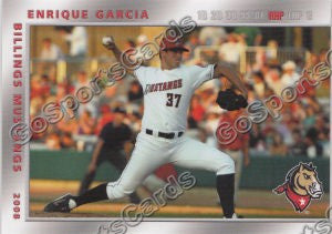 2008 Billings Mustangs Enrique Garcia