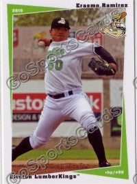 2010 Clinton LumberKings Erasmo Ramirez