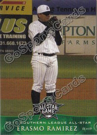 2011 Southern League All Star North Division Erasmo Ramirez
