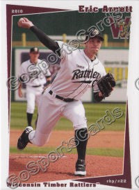 2010 Wisconsin Timber Rattlers Eric Arnett