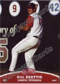 2007 Lowell Spinners Eric Beattie