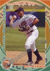 2009 Florida State League Top Prospects Eric Farris