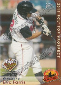 2011 Pacific Coast League Top Prospects PCL Eric Farris