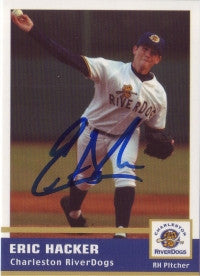 Eric Hacker 2005 Charleston Riverdogs (Autograph)