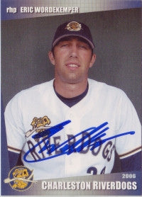 Eric Wordekemper 2006 GrandStand Charleston RiverDogs (Autographs)