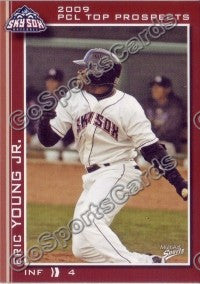 2009 Pacific Coast League Top Prospects Eric Young Jr