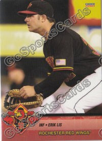 2010 Rochester Red Wings Erik Lis
