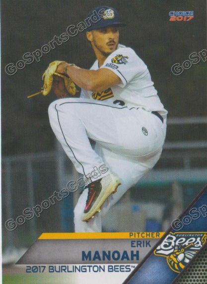 2017 Burlington Bees Erik Manoah