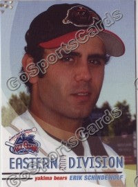 2004 GrandStand Northwest League All Star Erik Schindewolf