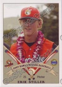 2007 West Oahu CaneFires Hawaii League Erik Stiller