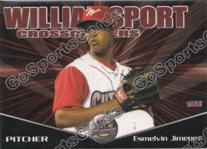 2009 Williamsport Crosscutters Esmelvin Jimenez