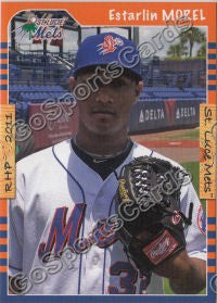 2011 St Lucie Mets Estarlin Morel