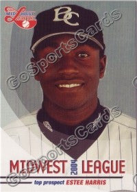 2004 Midwest League Top Prospects Estee Harris