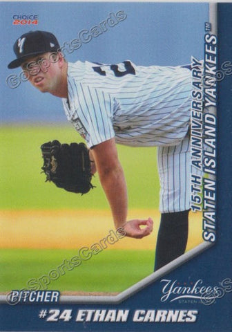 2014 Staten Island Yankees Team Set