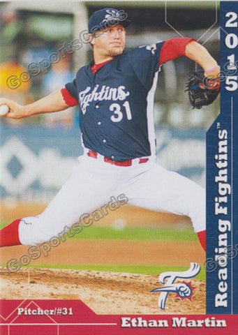 2015 Reading Fightin Phils Update Ethan Martin