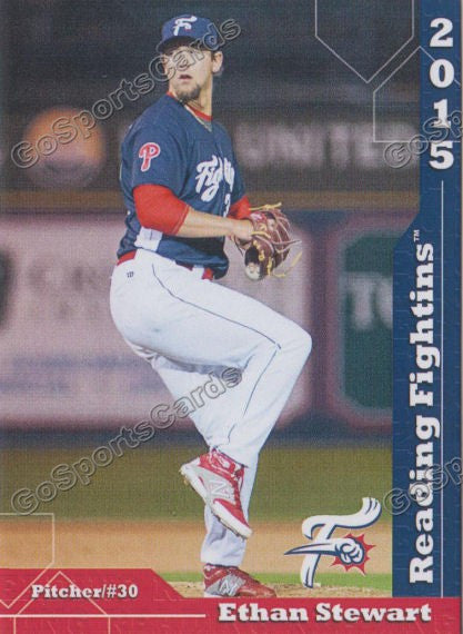 2015 Reading Fightin Phils Update Ethan Stewart
