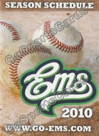 2010 Eugene Emeralds Pocket Schedule version 2
