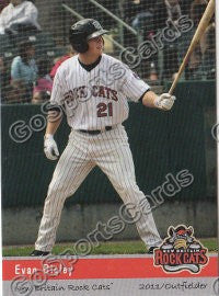2011 New Britain Rock Cats Evan Bigley