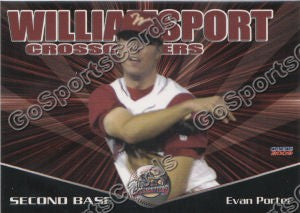 2009 Williamsport Crosscutters Evan Porter
