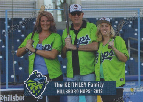2018 Hillsboro Hops The Keithley Family