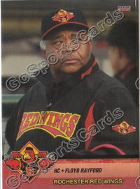 2010 Rochester Red Wings Floyd Rayford
