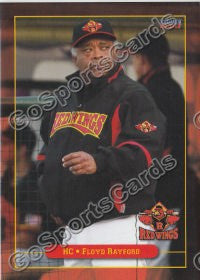 2011 Rochester Red Wings Floyd Rayford