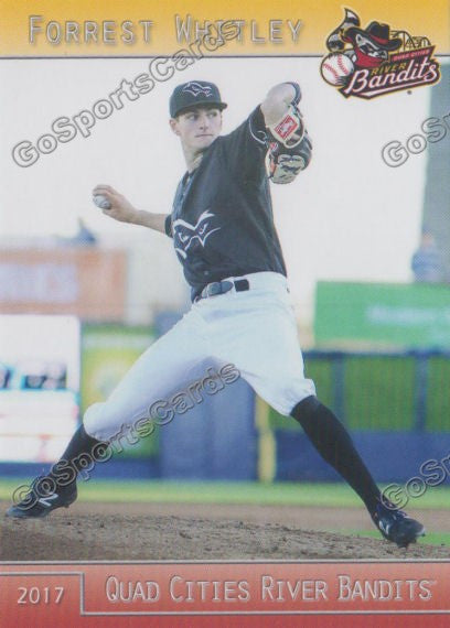 2017 Quad Cities River Bandits Forrest Whitley