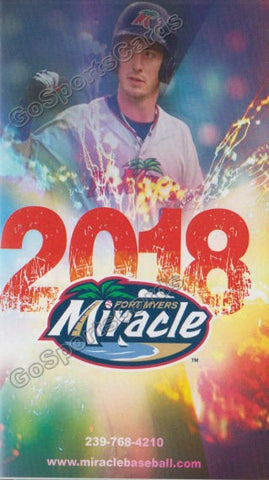 2018 Fort Myers Miracle Pocket Schedule